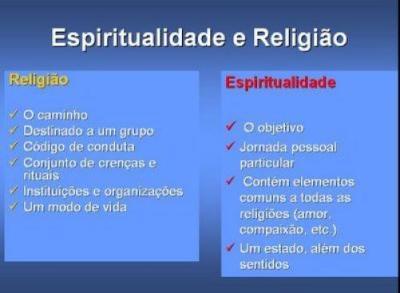 Espiritualidade e religiao