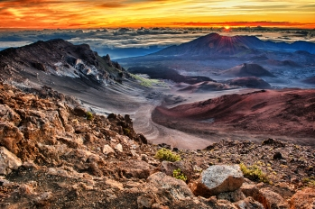 Haleakala - Maui -Chakra 4