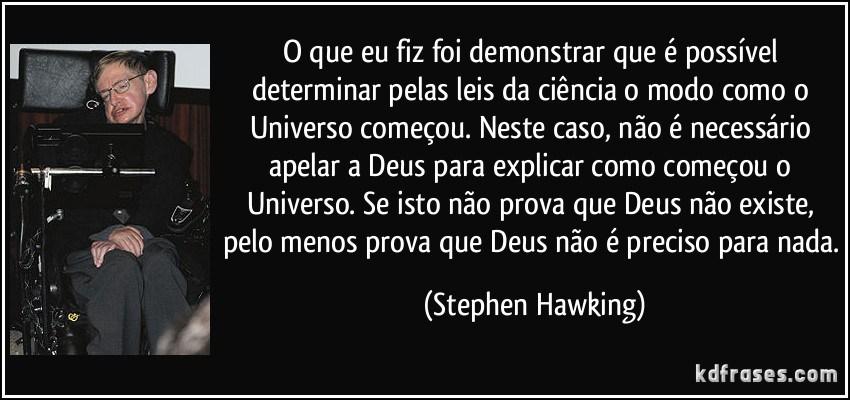 Os Cientistas Da Nova Era Stephen Hawking A Teoria De Tudo
