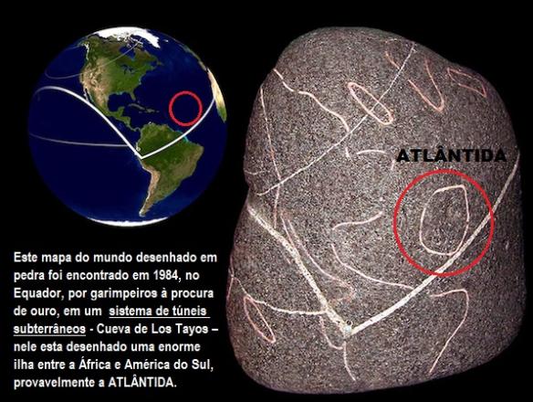 Atlantida - Gravada na Rocha