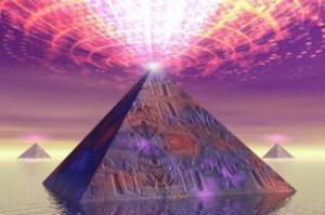 Piramide - Emissão de Luz