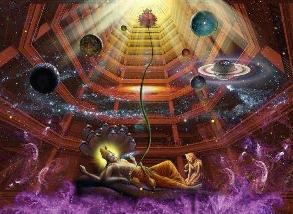 Vishnu - Lakshmi - Universo