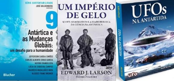 Resultado de imagem para imagens de livros sobre o degelo dos polos